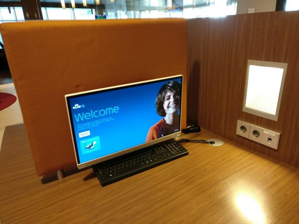 KLM Crown Lounge Amsterdam Non Schengen Business Center