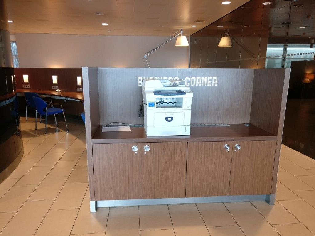 KLM Crown Lounge Amsterdam Non Schengen Business Center 2