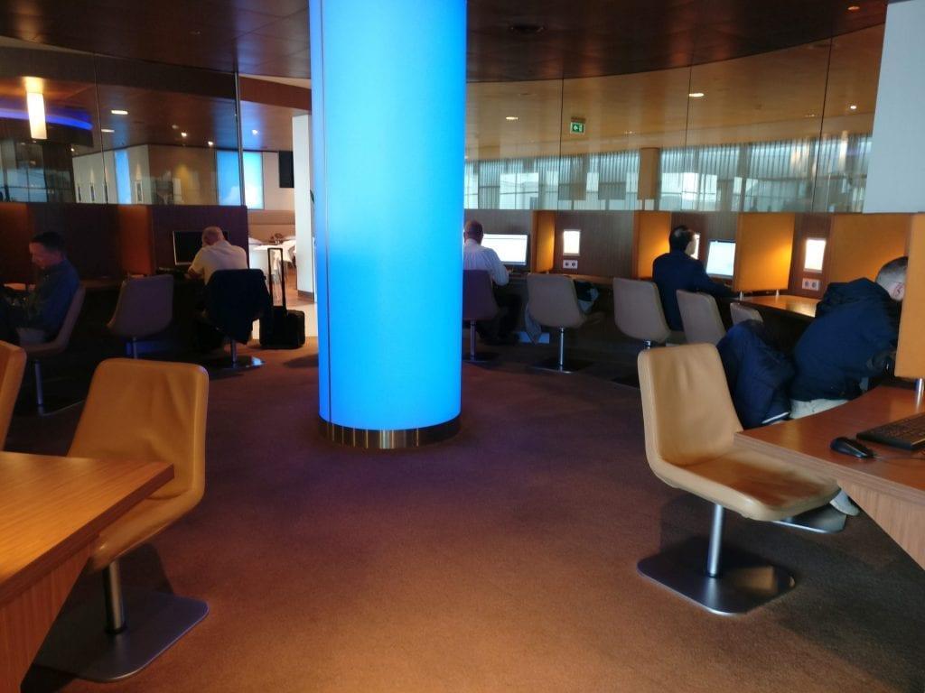 KLM Crown Lounge Amsterdam Non Schengen Business Center 3