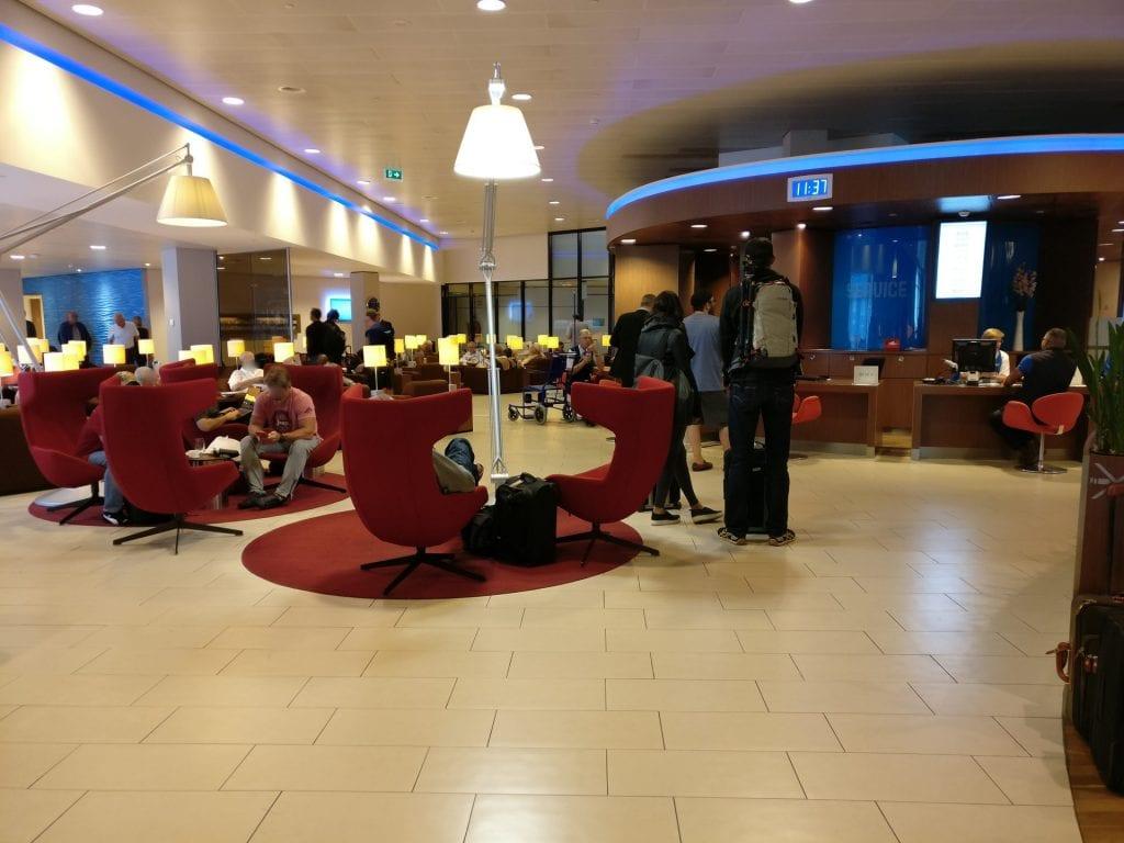 KLM Crown Lounge Amsterdam Non Schengen Seating 4