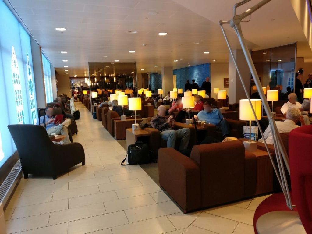 KLM Crown Lounge Amsterdam Non Schengen Seating 5
