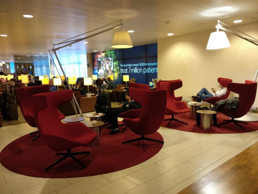 KLM Crown Lounge Amsterdam Non Schengen Seating 6