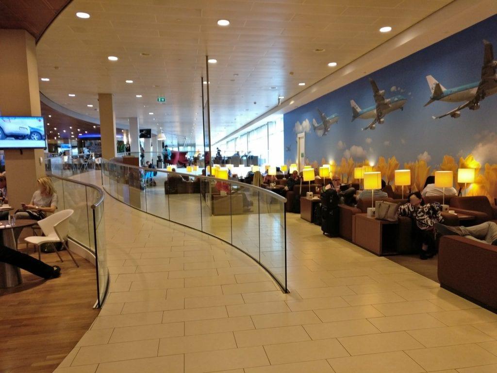 KLM Crown Lounge Amsterdam Non Schengen Seating 7