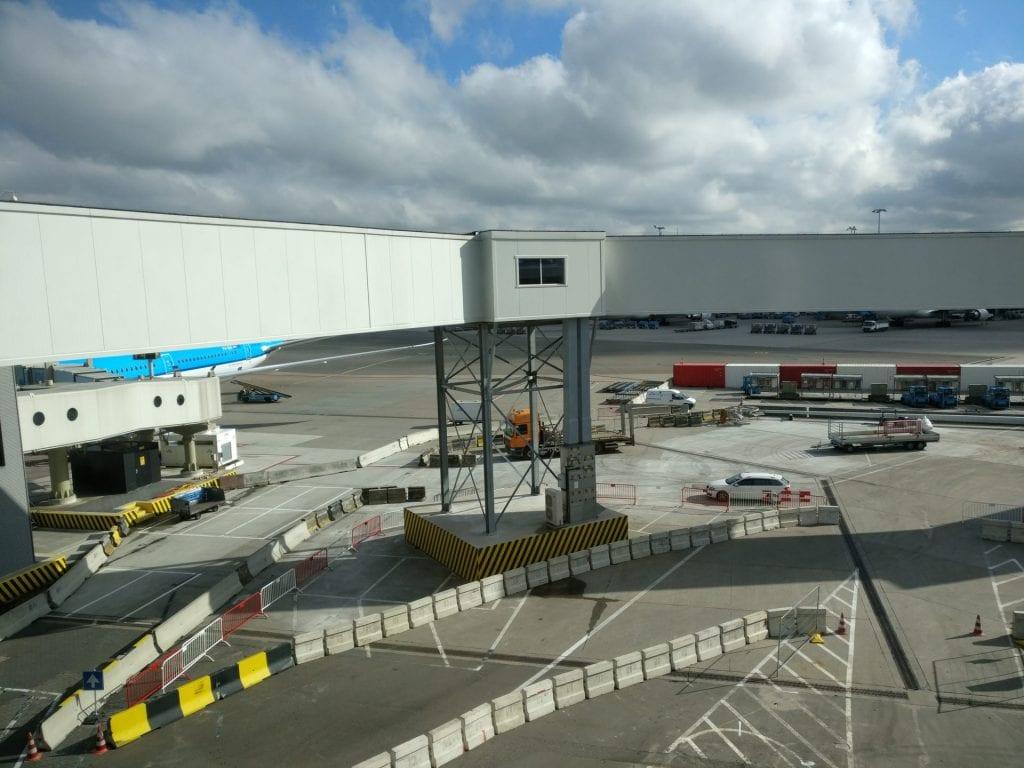 KLM Crown Lounge Amsterdam Non Schengen View