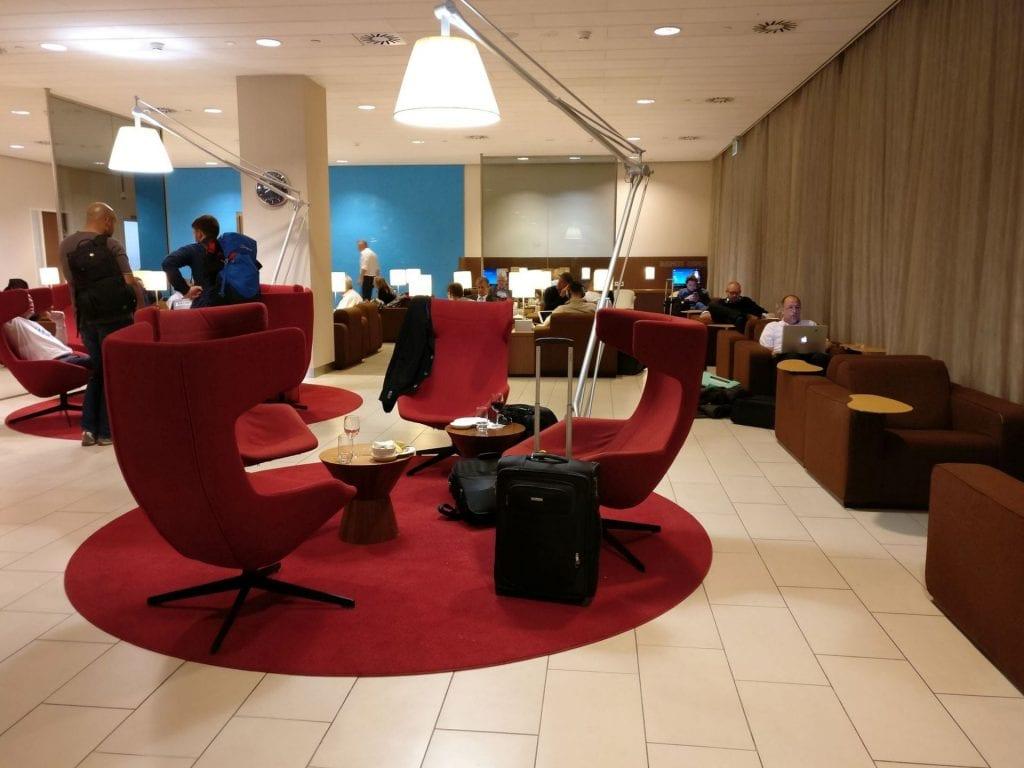 KLM Crown Lounge Amsterdam Schengen