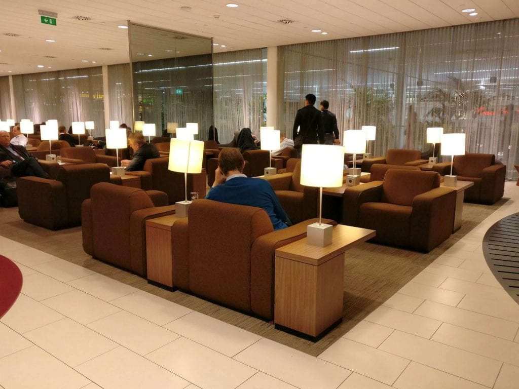KLM Crown Lounge Amsterdam Schengen 3