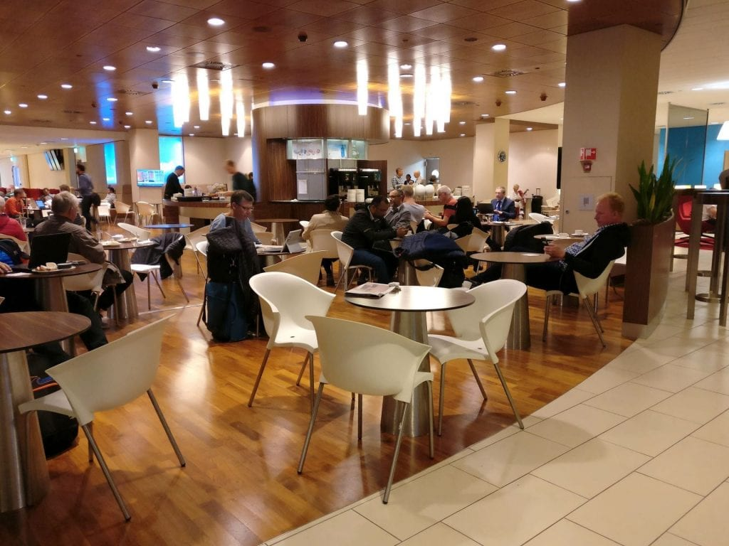 KLM Crown Lounge Amsterdam Schengen 4