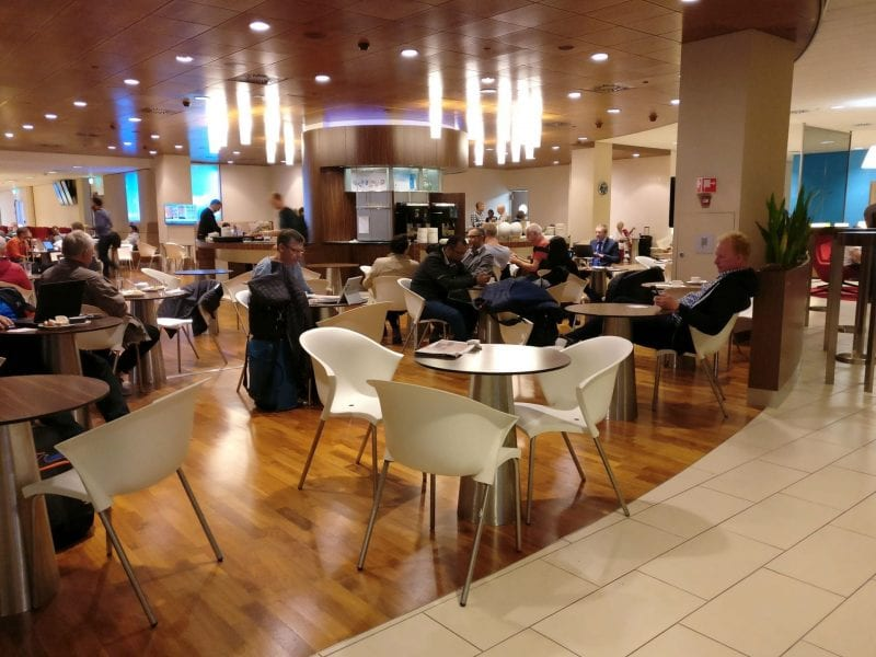 KLM Crown Lounge Amsterdam Schengen 4