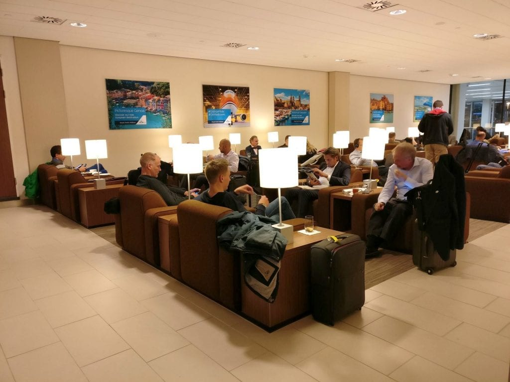 KLM Crown Lounge Amsterdam Schengen 5