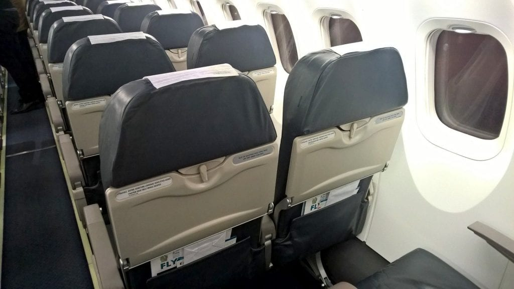 Luxair Economy Class Dash Q400