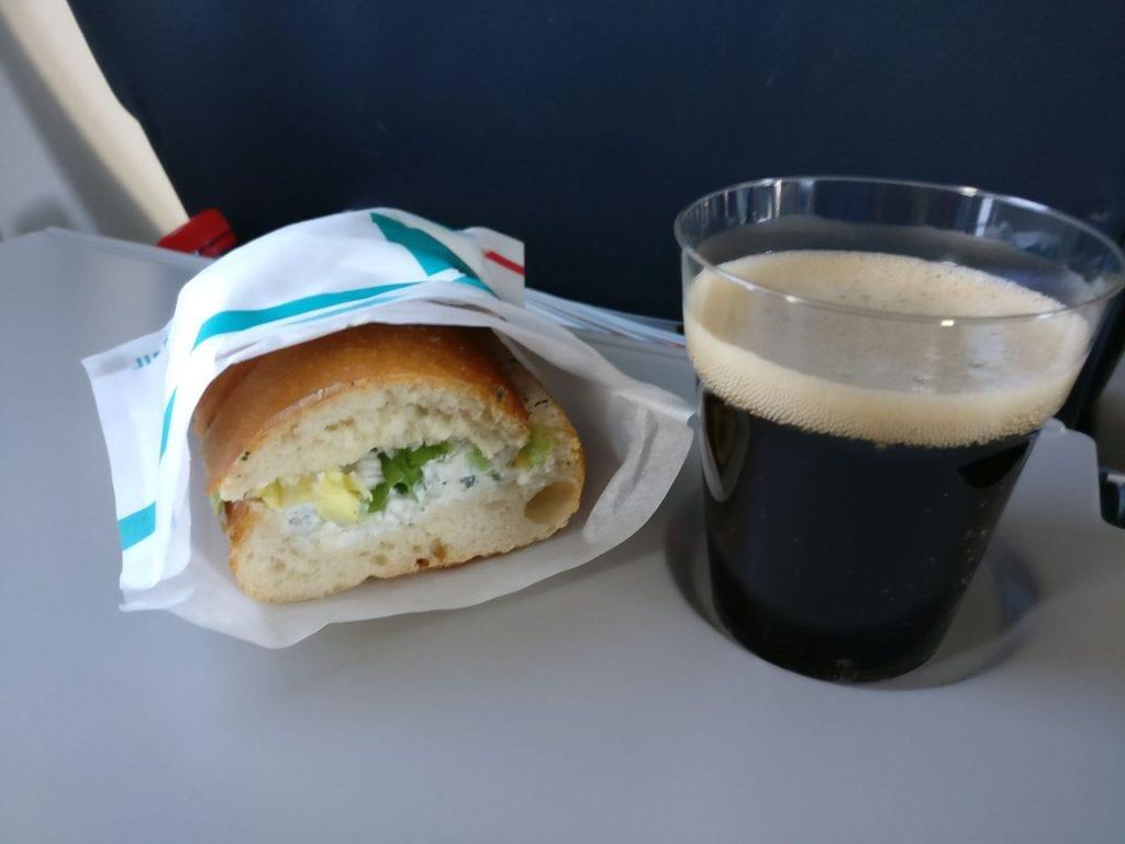 Luxair Economy Class Dash Q400 Snack
