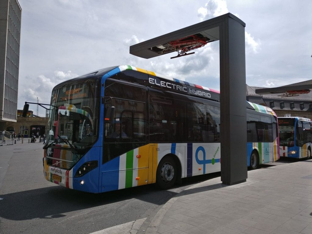 Luxemburg Bus