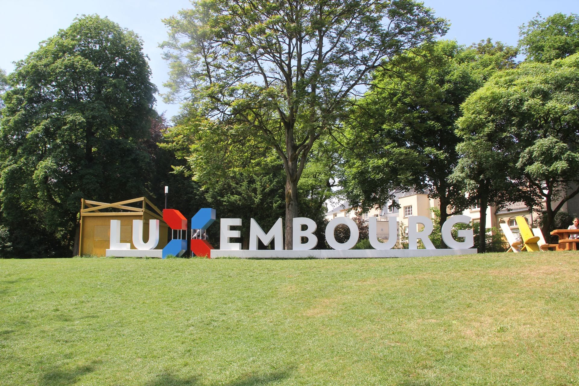 Luxemburg Sign