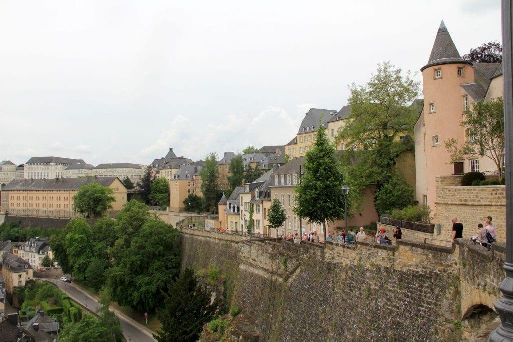 Luxemburg Stadtmauer