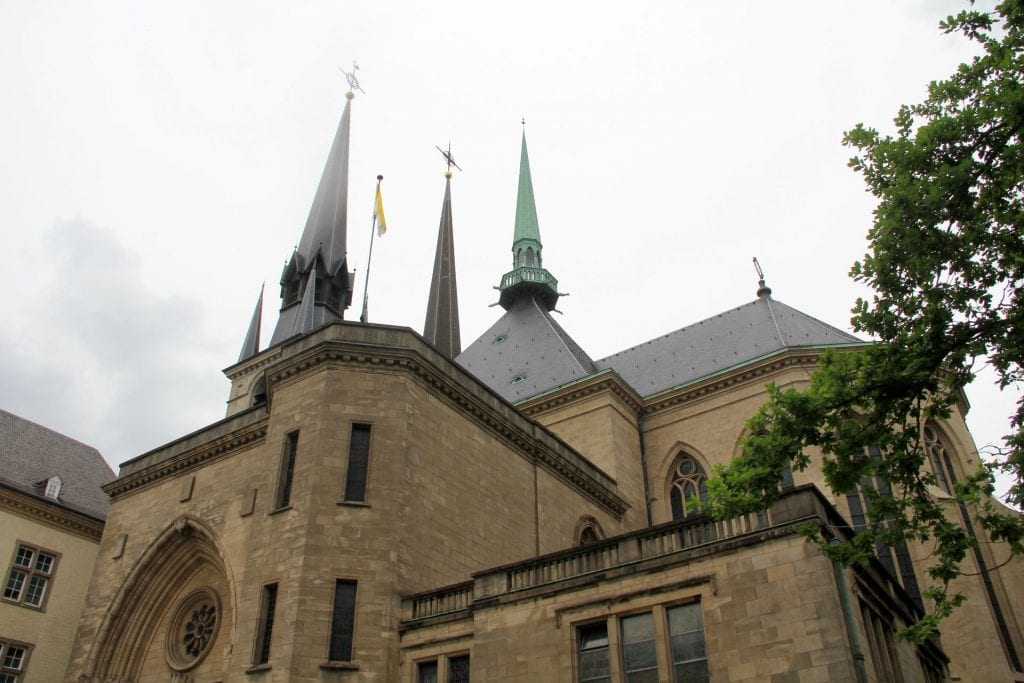 Notre Dame Kathedrale Luxemburg