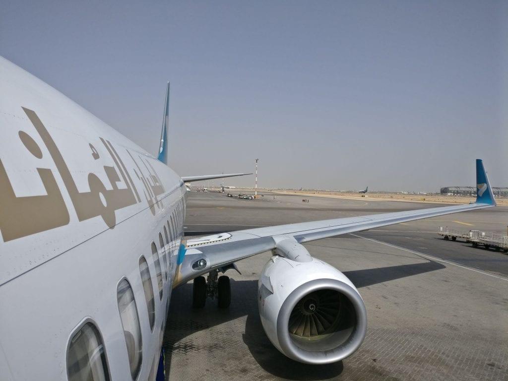 Oman Air Boeing 737