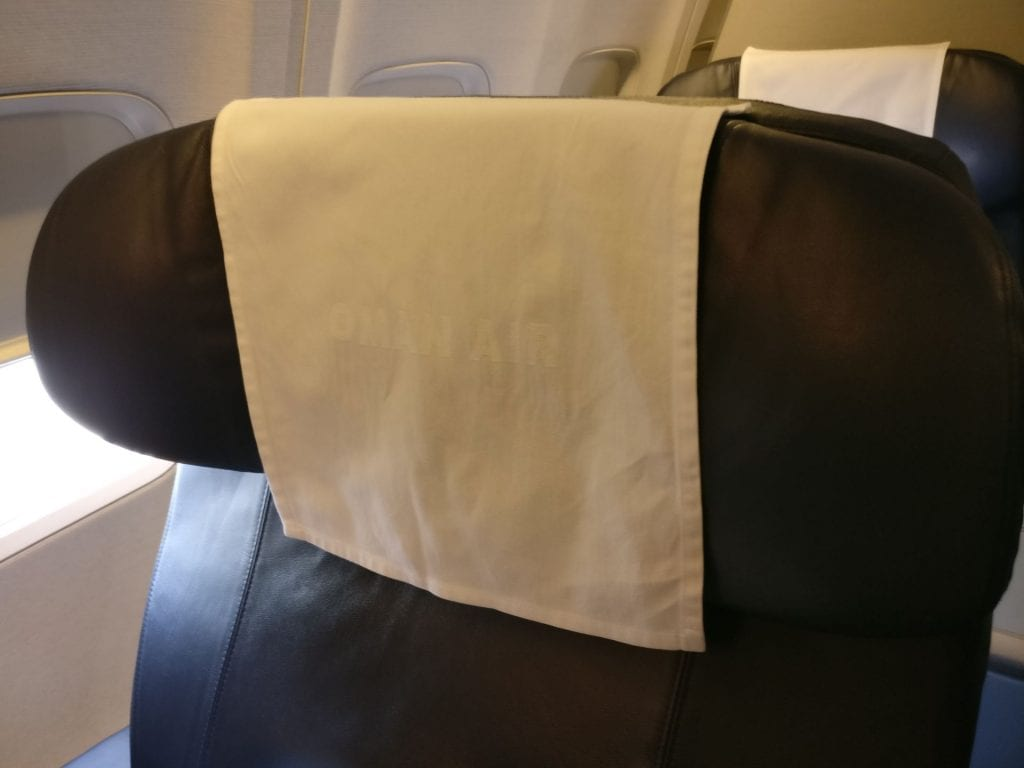 Oman Air Business Class Boeing 737 Seating 5