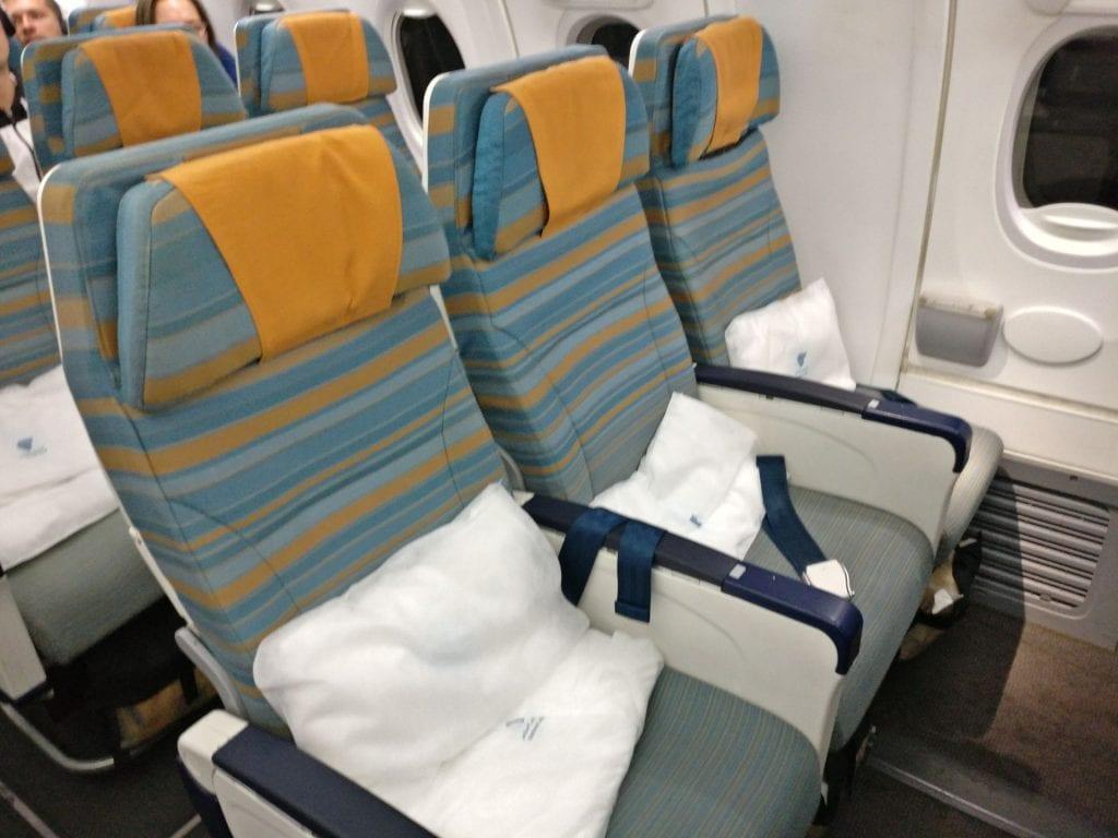 Oman Air Economy Class Boeing 737 2