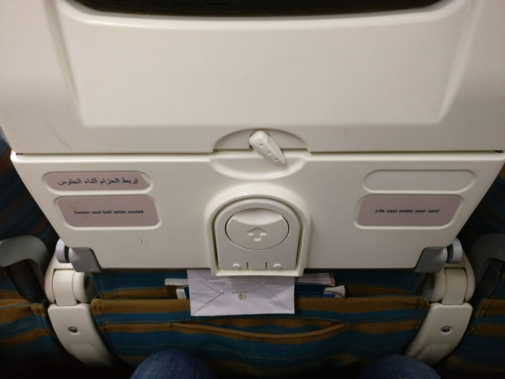 Oman Air Economy Class Boeing 737 4