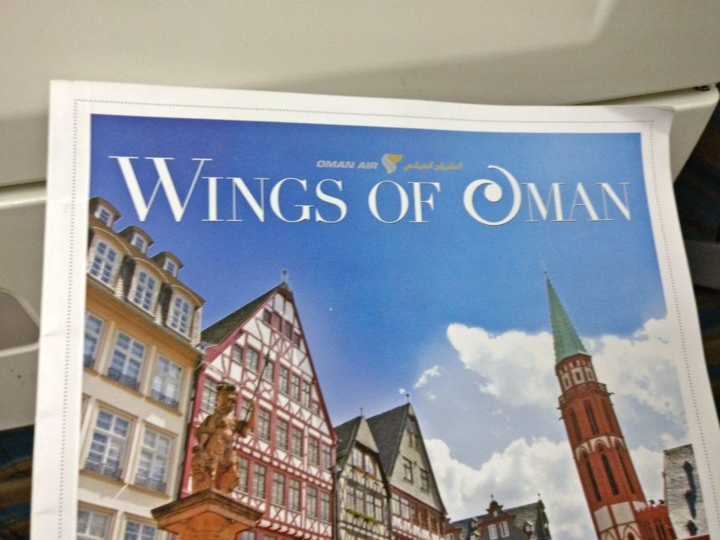 Oman Air Economy Class Magazine 2