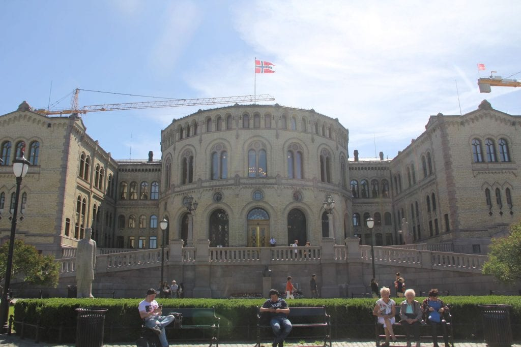 Oslo The Storting Building – Parliament