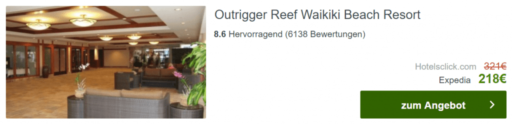 Outrigger Reef Hawaii 19 Tage