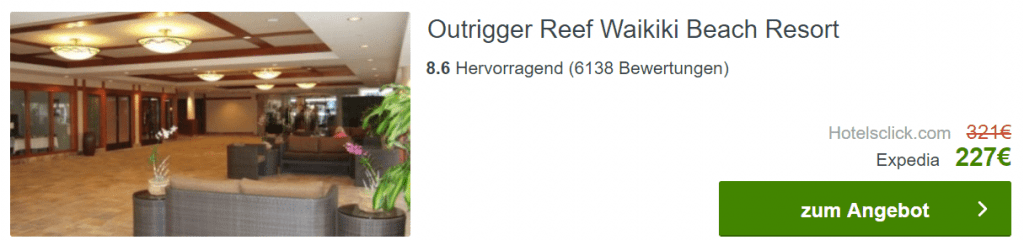 Outrigger Reef Hawaii 7 Tage
