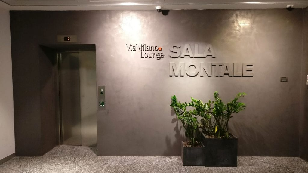 Sala Montale Milan Entrance