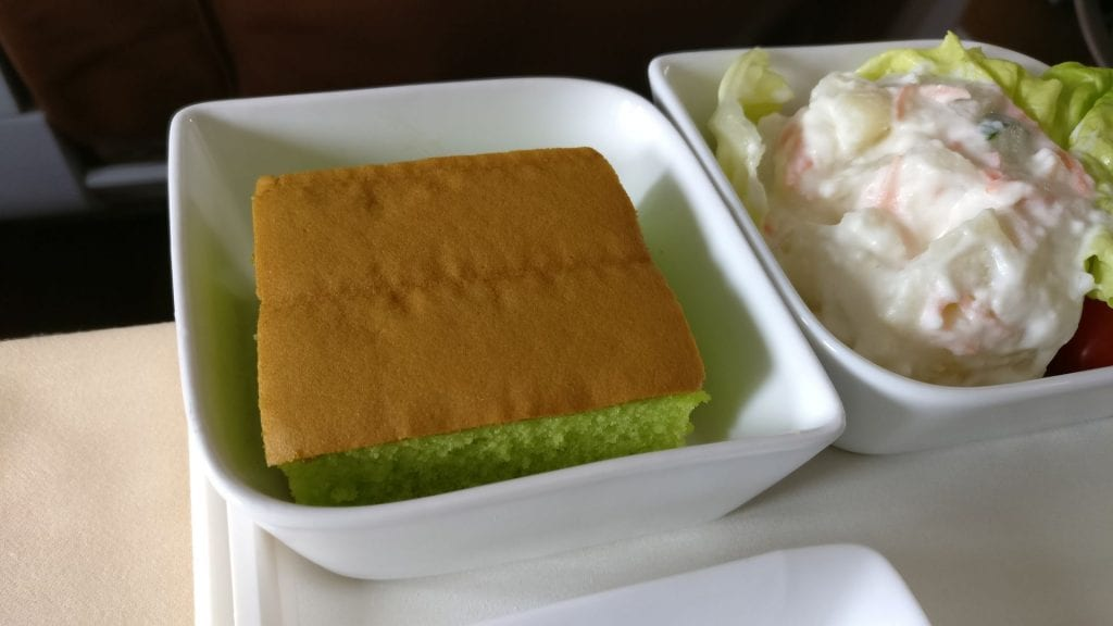 Silk Air Business Class Lunch 4