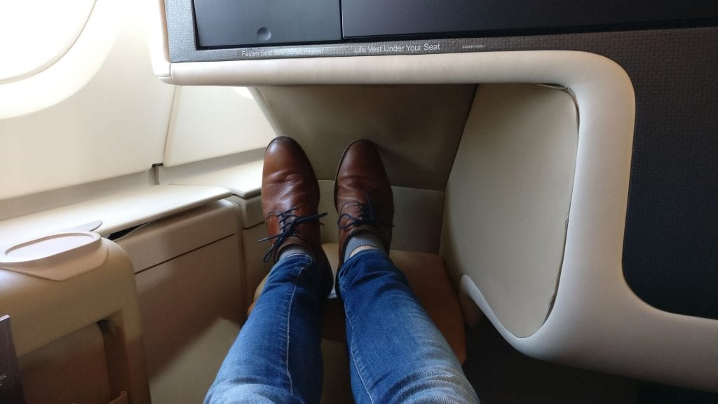 Singapore Airlines Business Class Airbus A380 13
