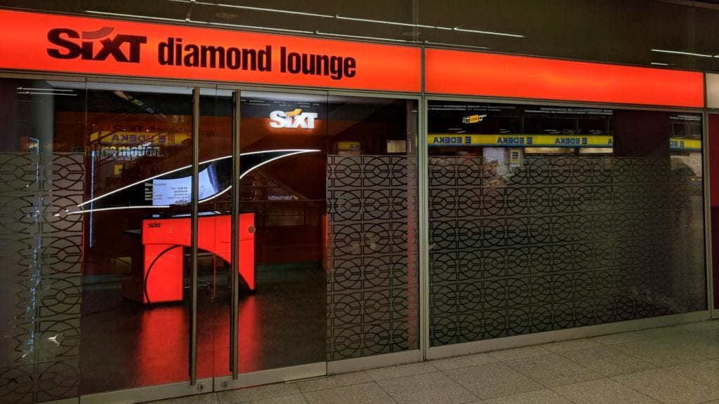 Sixt Diamond Card Vorteil Lounge
