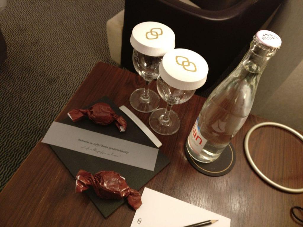 Sofitel Berlin Gendarmenmarkt Luxury Room Welcome Gift