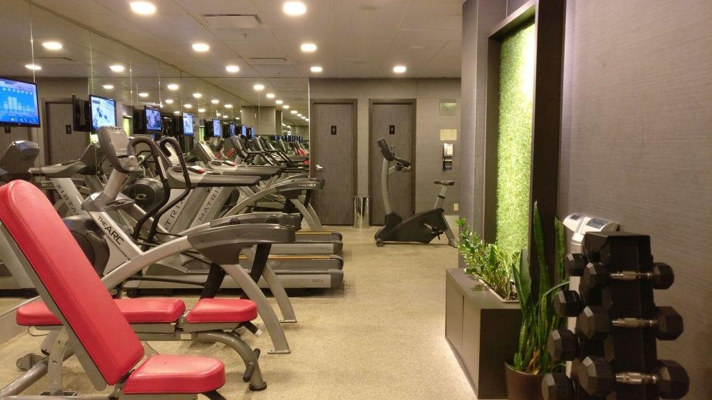 Sofitel Montreal Gym