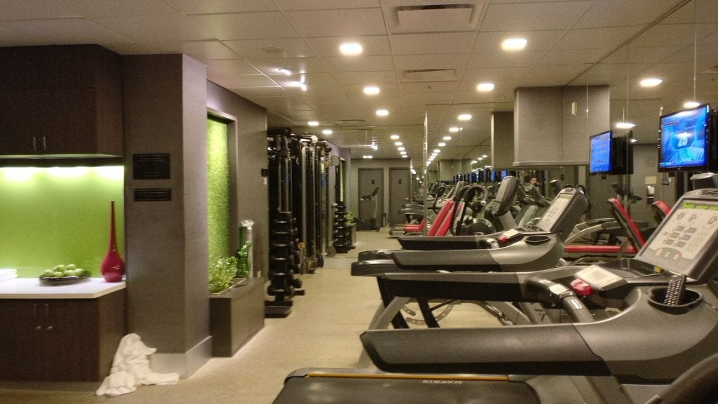 Sofitel Montreal Gym 2