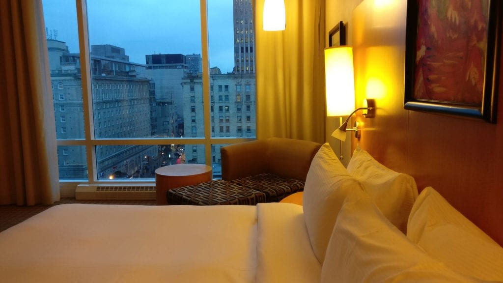 Sofitel Montreal Luxury Room