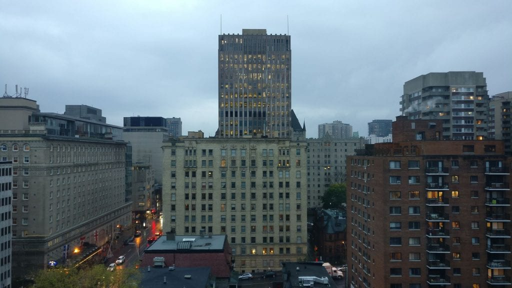 Sofitel Montreal Luxury Room View