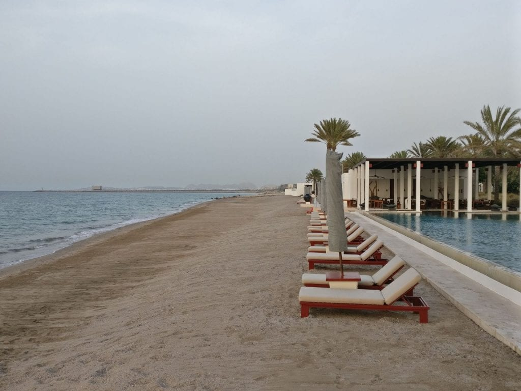 The Chedi Muscat Beach