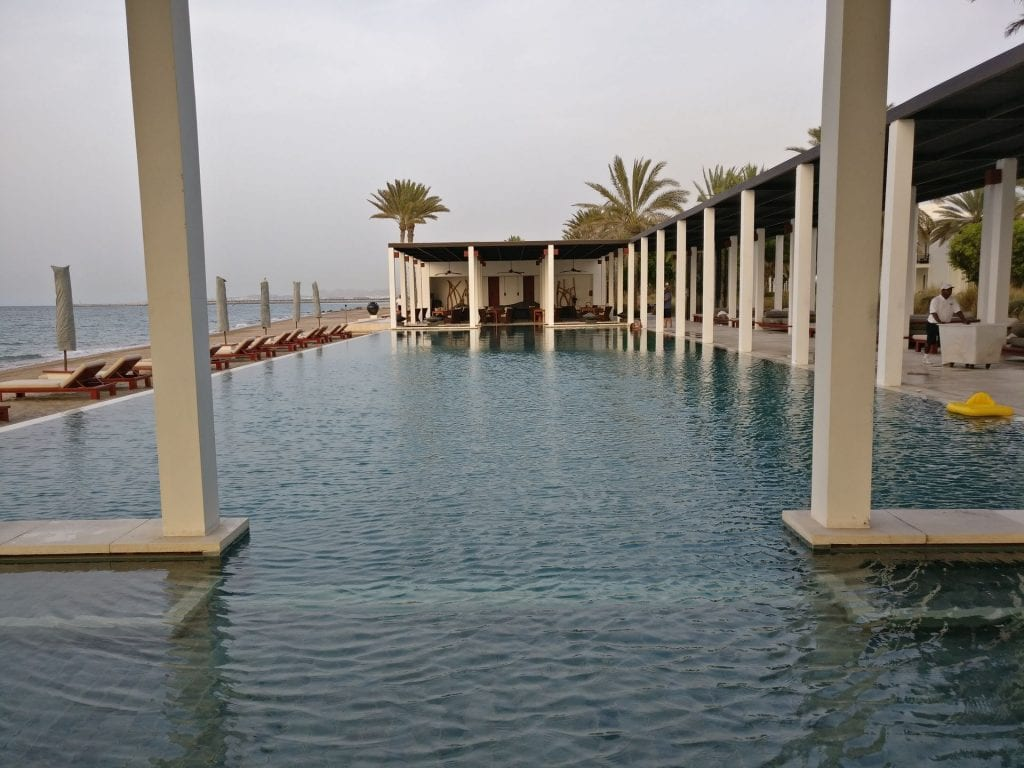 The Chedi Muscat Chedi Pool 4