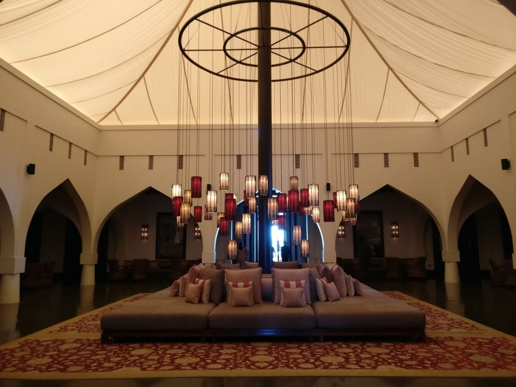 The Chedi Muscat Lobby