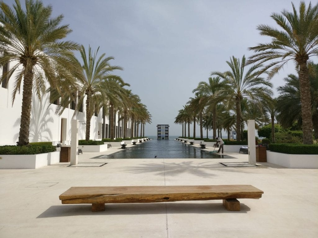 The Chedi Muscat Long Pool 2