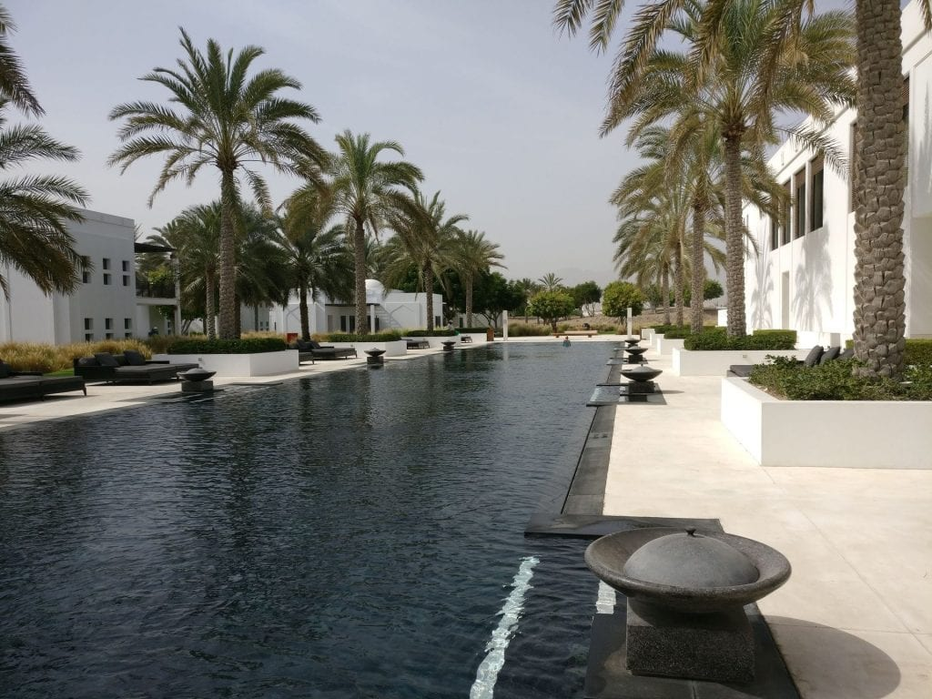 The Chedi Muscat Long Pool 5