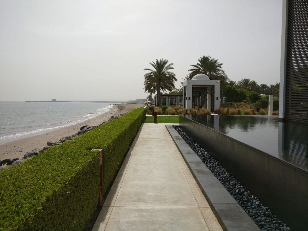 The Chedi Muscat Long Pool 6
