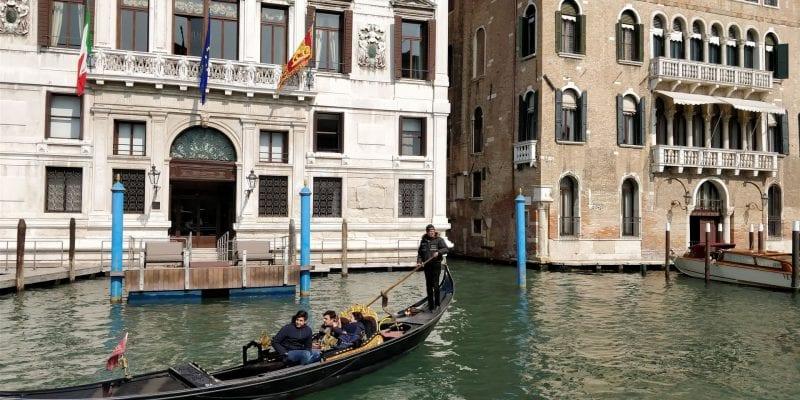 Venedig Gondel Canale Grande