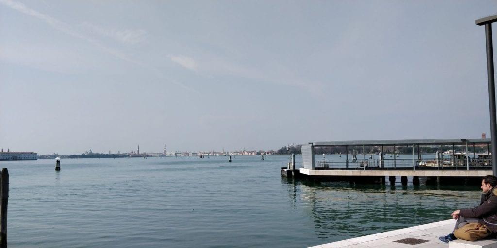 Venedig Lido Sicht Stadt