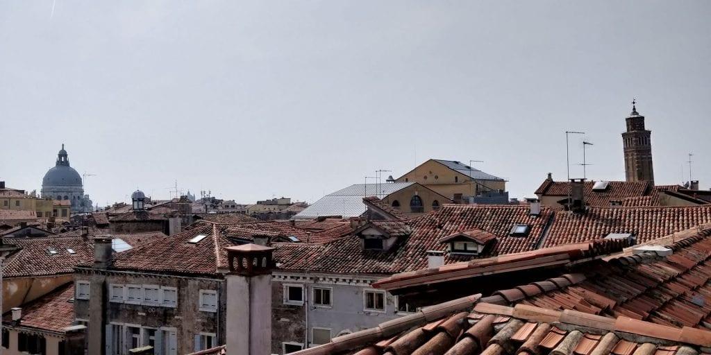 Venedig Schneckenturm Aussicht