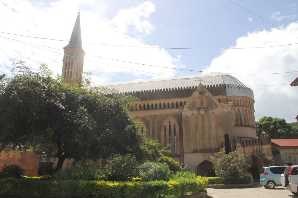 Zanzibar Stone Town Anglican Christ Church Cathedral