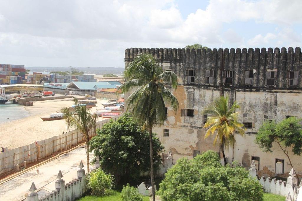 Zanzibar Stone Town Palace Museum View 2