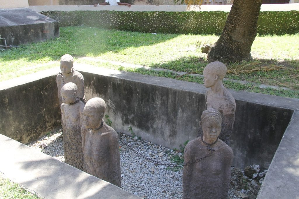 Zanzibar Stone Town Slave Trade Exhibit 3