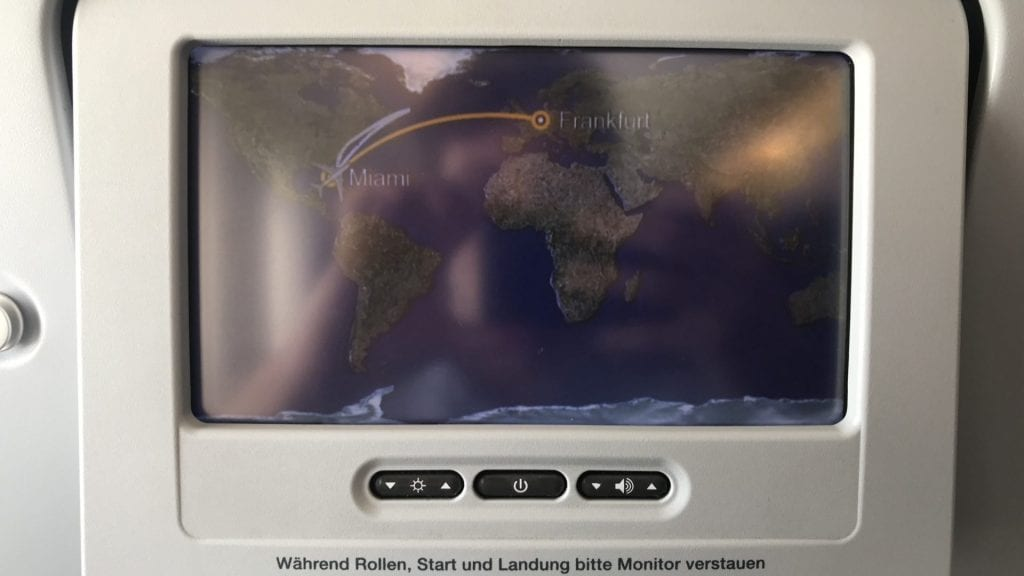 lufthansa economy class airbus a380 entertainment system