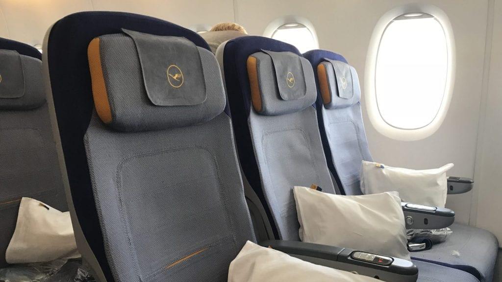Lufthansa Sitzplatzreservierung Economy Class